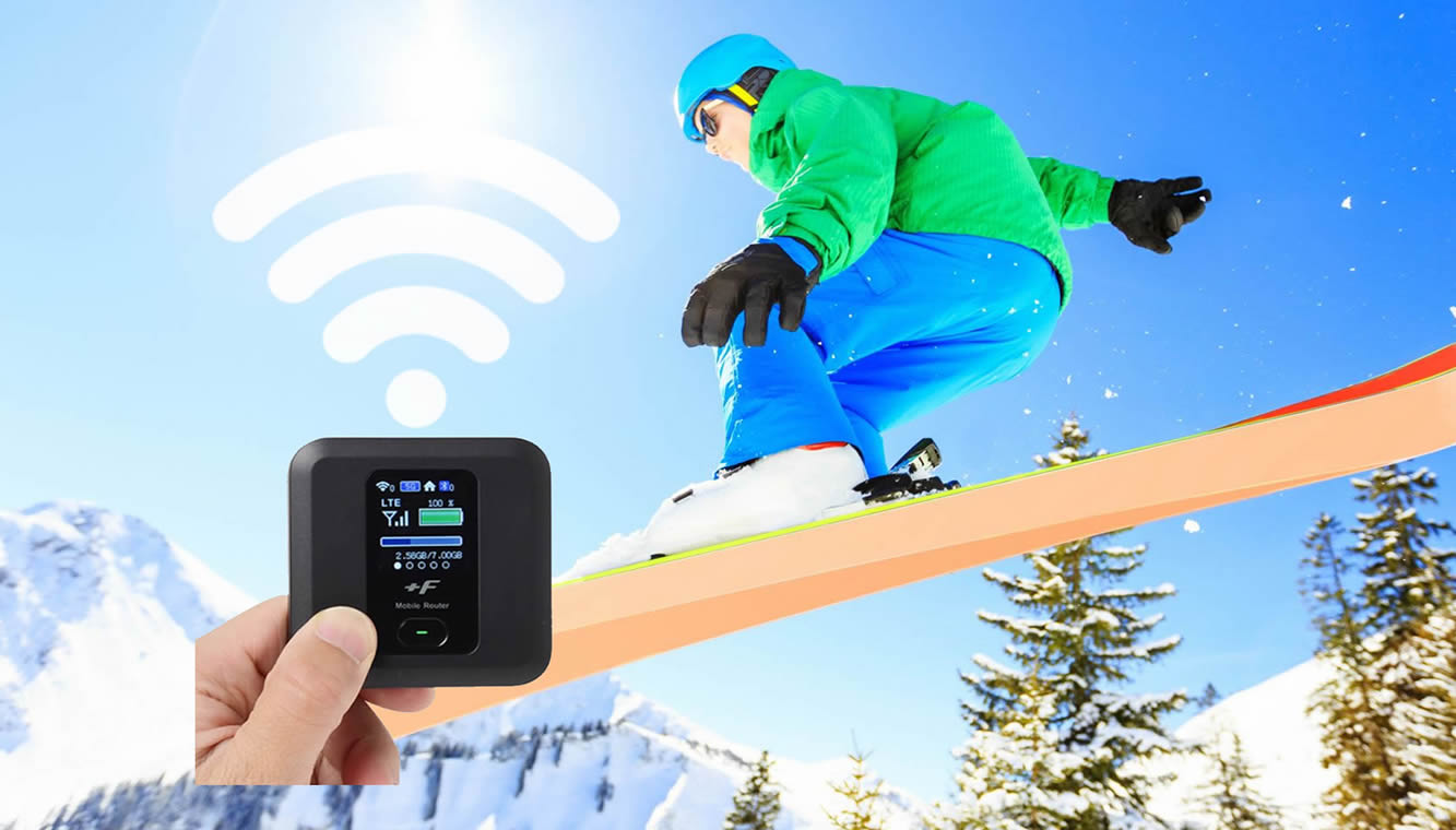 JaPow While Wireless: Wifi and Sim Rental for the Japanese Ski Season